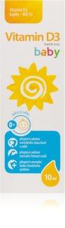 Vitamin D3 baby 400IU kapky 10ml doplněk stravy  pro podporu imunitního systému