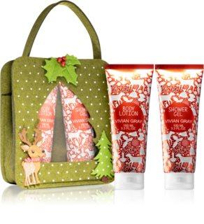 Vivian Gray Red Christmas σετ δώρου για γυναίκες