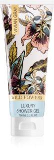 Vivian Gray Wild Flowers luxusní sprchový gel