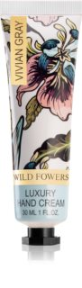 Vivian Gray Wild Flowers creme de luxo para mãos