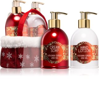 Vivian Gray Red Christmas coffret II.
