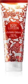 Vivian Gray Red Christmas интенсивное увлажняющее молочко для тела