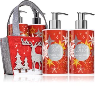 Vivian Gray Red Christmas σετ δώρου (για τα χέρια)