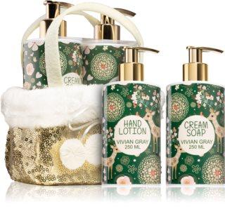 Vivian Gray Golden Christmas σετ δώρου (για όλους τους τύπους δέρματος)