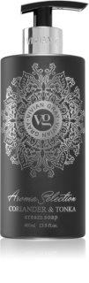 Vivian Gray Aroma Selection Coriander & Tonka кремообразен течен сапун