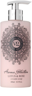 Vivian Gray Aroma Selection Lotus & Rose sapone liquido in crema