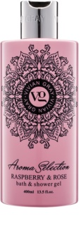 Vivian Gray Aroma Selection Raspberry & Rose gel de dus si baie