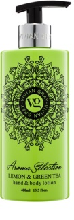 Vivian Gray Aroma Selection Lemon & Green Tea latte per mani e corpo