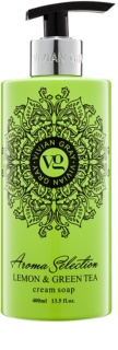 Vivian Gray Aroma Selection Lemon & Green Tea sapone liquido in crema
