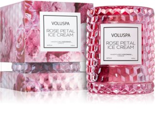 VOLUSPA Roses Rose Petal Ice Cream dišeča sveča  I.