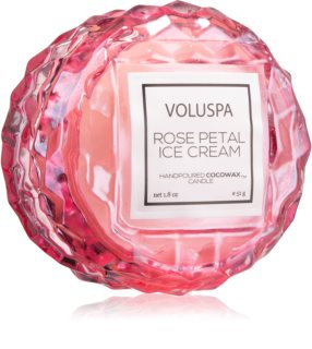 VOLUSPA Roses Rose Petal Ice Cream vonná sviečka II.