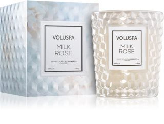 VOLUSPA Roses Milk Rose scented candle