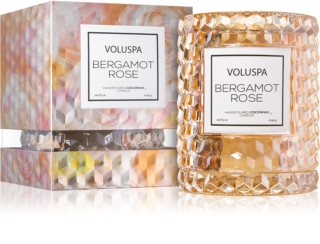 VOLUSPA Roses Bergamot Rose scented candle I.