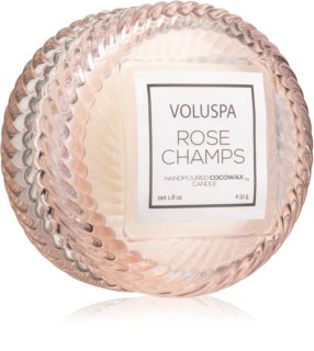 VOLUSPA Macaron Rose Champs scented candle II.