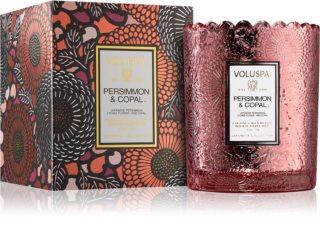 VOLUSPA Japonica Persimmon & Copal bougie parfumée