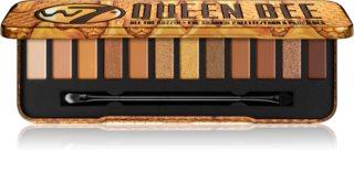 W7 Cosmetics Queen Bee paletka očních stínů