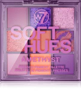W7 Cosmetics Soft Hues paleta očních stínů