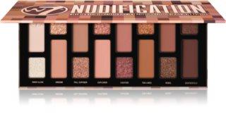 W7 Cosmetics Nudification παλέτα με σκιές ματιών