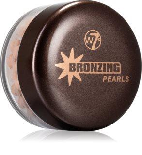 W7 Cosmetics Bronzing Pearls bronzer v kroglicah