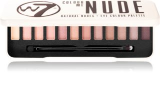 W7 Cosmetics Colour Me In The Nude palette de fards à paupières