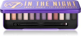 W7 Cosmetics In the Night paleta farduri de ochi