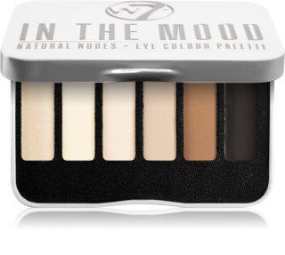 W7 Cosmetics In the Mood paleta očních stínů