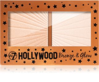 W7 Cosmetics Hollywood bronzer i rozjaśniacz
