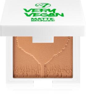 W7 Cosmetics Very Vegan Matte bronzer s matným efektem