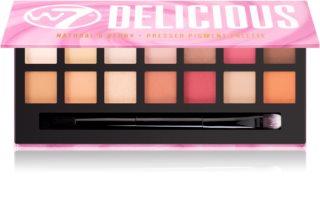 W7 Cosmetics Delicious paleta senčil za oči