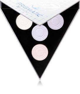 W7 Cosmetics 3D Prismatic Palette paleta osvetljevalcev
