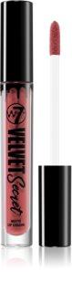 W7 Cosmetics Velvet Secret matná tekutá rtěnka