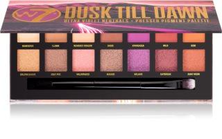W7 Cosmetics Dusk Till Dawn Lidschatten-Palette