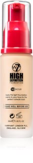 W7 Cosmetics HD hydratisierendes cremiges Foundation