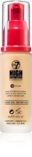 W7 Cosmetics HD hydratační krémový make-up