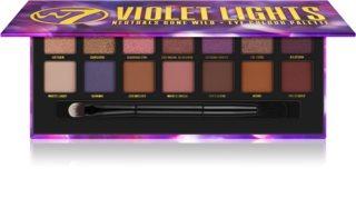 W7 Cosmetics Violet Lights paleta očních stínů