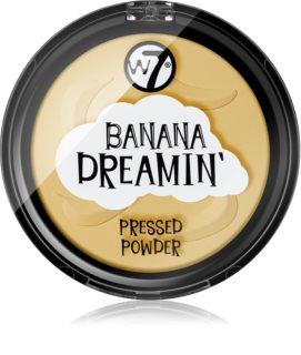 W7 Cosmetics Banana Dreamin' rozjasňující kompaktní pudr