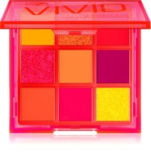 W7 Cosmetics Vivid palette de fards à paupières