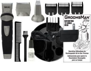 Wahl Groomsman Body 3-in-1 električni brivnik za lase, brado in telo
