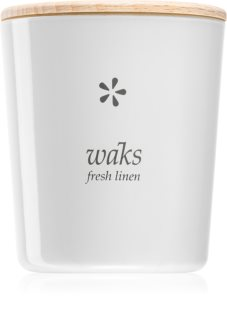 Waks Fresh Linen scented candle