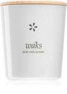 Waks Acai Red Currant scented candle