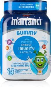 Walmark Marťánci Gummy žvýkací měkké tobolky  pro děti