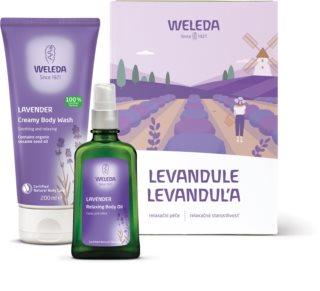 Weleda Lavender подаръчен комплект V. (с лавандула) за жени