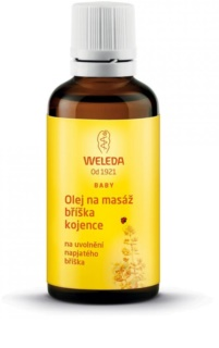Weleda Pregnancy and Lactation масло для массажа животика младенца
