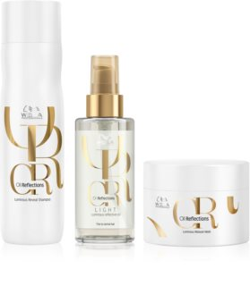 Wella Professionals Oil Reflections kit di cosmetici (per nutrire e rendere luminosi) da donna