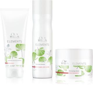 Wella Professionals Elements kozmetická sada (pre suché a poškodené vlasy) pre ženy