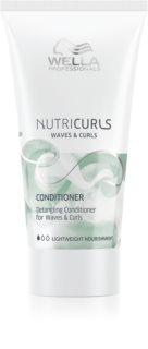 Wella Professionals Nutricurls Waves & Curls vyživující kondicionér pro snadné rozčesání vlasů