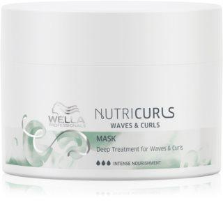 Wella Professionals Nutricurls Waves & Curls maska za zaglađivanje za valovitu i kovrčavu kosu