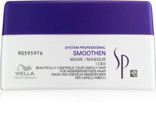 Wella Professionals SP Smoothen Maske für unnachgiebige und strapaziertes Haar