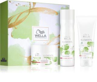 Wella Professionals Elements dárková sada (pro poškozené vlasy)