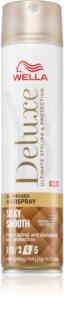 Wella Deluxe Silky Smooth regenerační lak na vlasy pro extra silnou fixaci